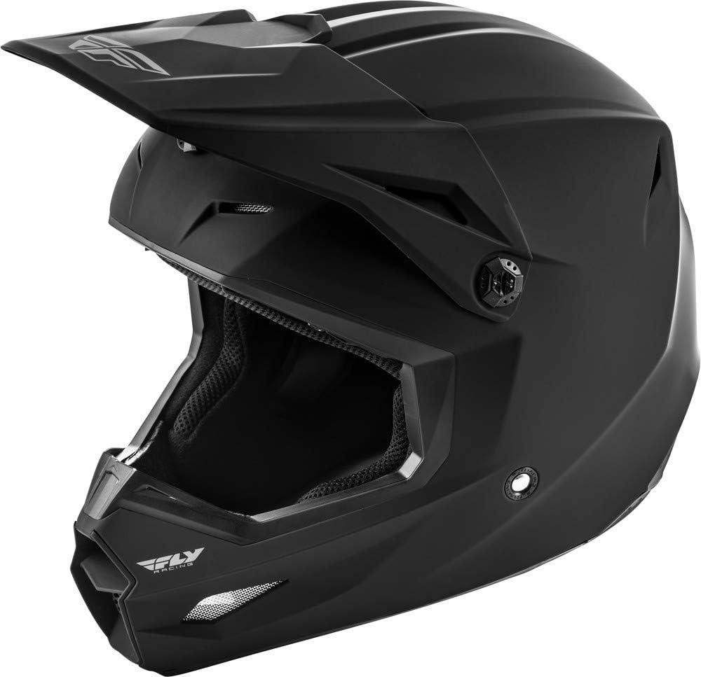 Matte Black Medium Fly Racing 2020 Youth Kinetic Helmet