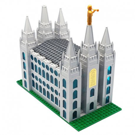 Brick'Em Young LDS Small Salt Lake Temple ()