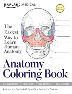 The Anatomy Coloring Book: 0642688054786: Medicine & Health Science ...