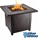 Blue Rhino Outdoor Propane Gas Fire Pit (Lava Rocks)