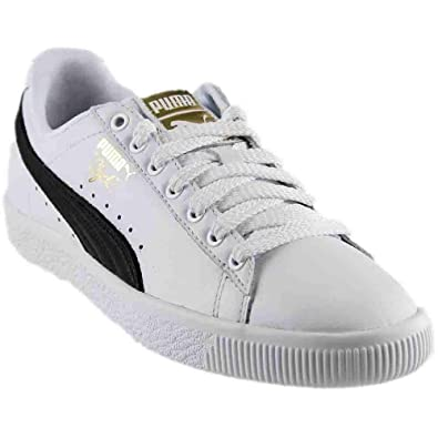 separation shoes fe6a1 ed1ac Amazon.com | PUMA Women's Clyde Core Sneakers | Fashion Sneakers