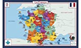 France Geography Placemat