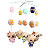 Wind-up Musical Mobile, [Dance Party] Crib Mobile, Bed Bell, Hanging Toy