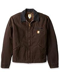 Carhartt mens Big & Tall Blanket Lined Sandstone Detroit Jacket J97