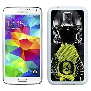 Unique Galaxy S5 Case,Durable I9600 Case Design with Ducks Oregon Samsung Galaxy S5 SV I9600 White Case