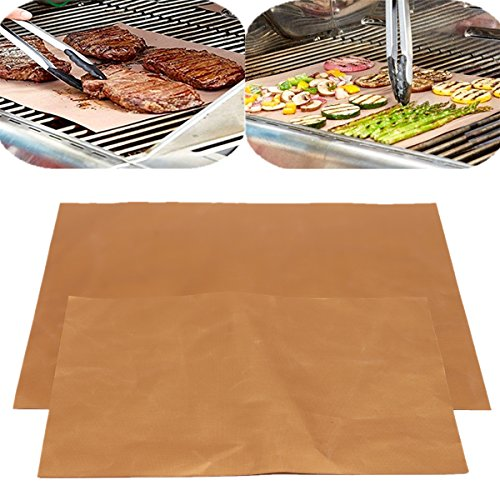 Grille Matt - 4pcs Grill Mat Bbq Bake Chef Pad Camping Hiking Home Outdoor Tool - Grillroom Flat Grillwork Tangle Flatness Lusterlessness Art Teaching by Unknown