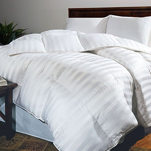 Hotel Grand Oversized 500 Thread Count White Goose Down Comforter King