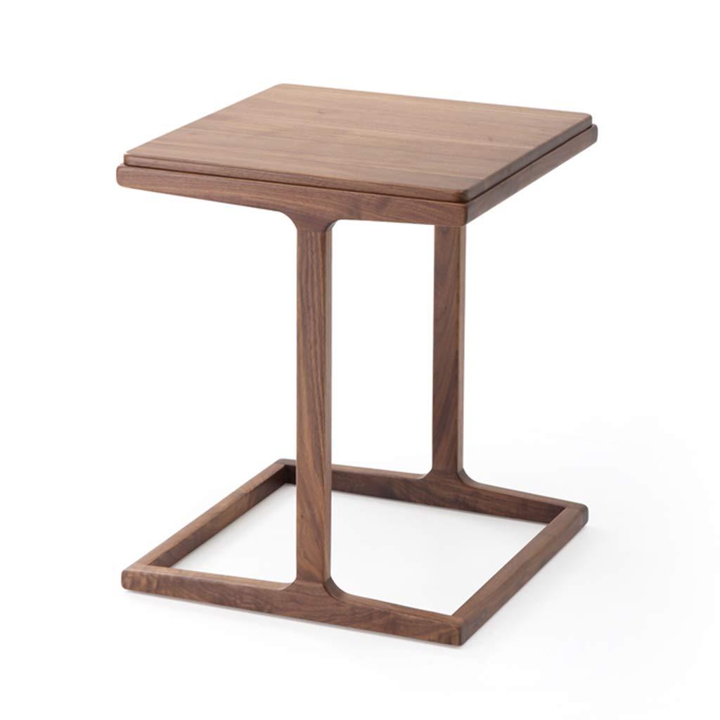 amazon com coffee tables black walnut solid wood study square side rh amazon com