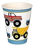 Meri Meri Big Rig Party Cups, 12-Pack, Health Care Stuffs