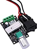 Yeeco DC 6V 12V 24V PWM Motor Speed Switch Controller DC 6-28V 3A 80W Variable Adjustable Reversible Speed Switching DC Motor Controller Driver Reversing