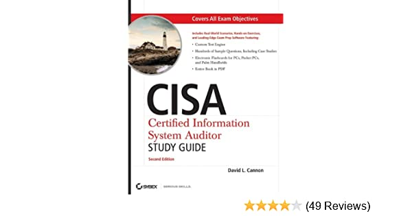 9780782144383: cisa certified information systems auditor study.