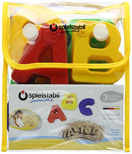 Molds (Alphabet Sand Molds)
