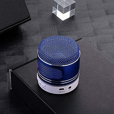 Kabellos Bluetooth V5.0 Lautsprecher Stereo Boombox Subwoofer AUX FM SD Musicbox
