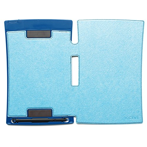 Xcivi PU Leather Protective Case for Boogie Board Jot 8.5-inch LCD Writing Tablet (Teal)