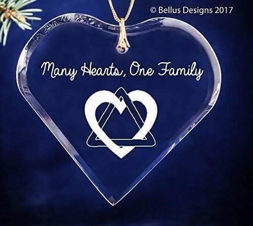Amazon.com: Adoption Triad Heart Symbol Many Hearts One