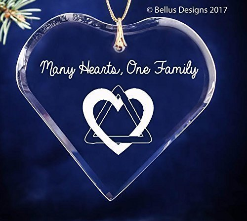 Adoption Triad Heart Symbol Many Hearts One Family