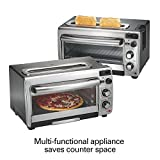 Hamilton Beach 31156 Countertop Toaster Oven, Stainless Steel