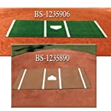 Diamondturf Home Plate Mat 6'x12' Green