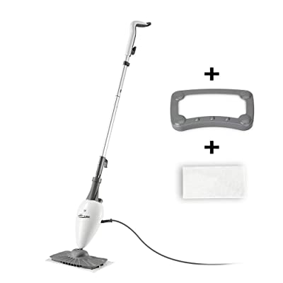 LIGHT 'N' EASY Steam Mop Floor Steamers For Cleaning With Swivel Steam Floor Mop Head