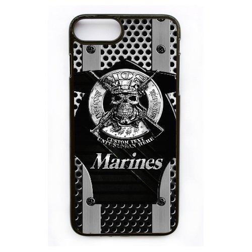 Coque,Apple Coque iphone 7 Plus (5.5 pouce) Case Coque, Generic Usmc Marines Cover Case Cover for Coque iphone 7 Plus (5.5 pouce) Noir Hard Plastic Phone Case Cover