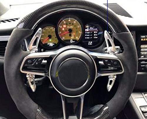 FidgetGear Extensi/ón de Palanca de Cambios DSG de aleaci/ón para Porsche 718 Boxster Cayman 911 14-18 2 Unidades