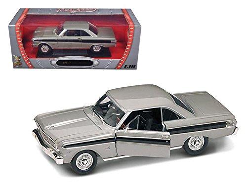 1964 Ford Falcon Diecast Car Model 1/18 Grey Die Cast Car by Road Signature