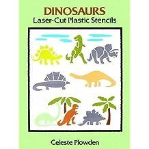Dinosaurs Laser-Cut Plastic Stencils