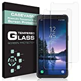 [2-PACK] CASEVASN For Samsung Galaxy S8 Active Screen Protector [Tempered Glass] 9H Hardness with Lifetime Replacement Warranty [Not Fit for Galaxy S8 / Galaxy S8 Plus]