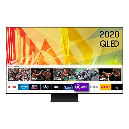 Samsung QE55Q90T (2020) 55 inches SMART 4K Ultra HD HDR 2000 QLED TV (Renewed)