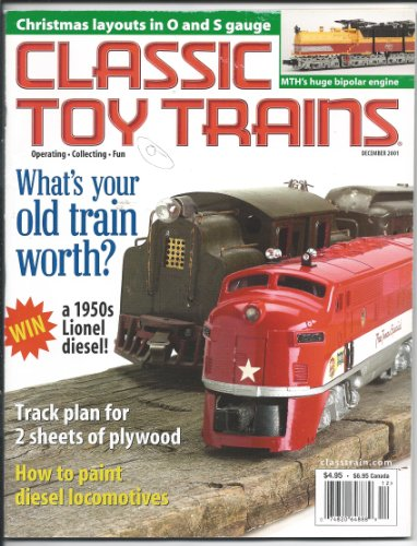 Classic Toy Trains for the Collector and Operator Magazine December 2001 (14) (Mth Layout Christmas)