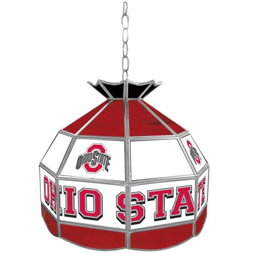 (NCAA Ohio State University Tiffany Gameroom Lamp, 16