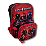Power Rangers Dino Supercharge Backpack with Detachable Insulated Lunch Box