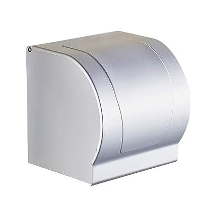 Jizhi Tejido Caja-WC Agua Armario Espacio Aluminio Cassette Inodoro-Papel Toalla De Mano