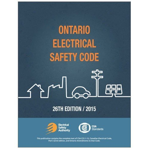 Ontario Electrical Safety Code Book