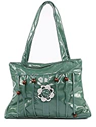 Green Stylish Women Handbag Shoulder Purse
