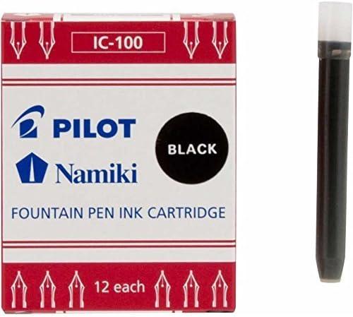 Black 12pk Sold Individually Fountain Ink Cartridge 69100 Namiki