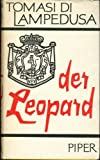 img - for Der Leopard (Il Gattopardo/The Leopard) (German Edition) book / textbook / text book