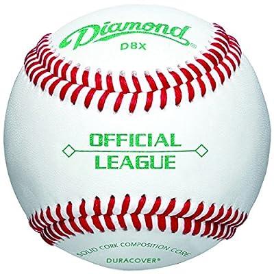 Diamond Official League Duracover DBX Baseballs (12 pack)