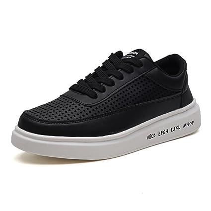 14911f48937ba Amazon.com : Men's/women's PU Bottom Mesh Casual Shoes 2018 Spring ...