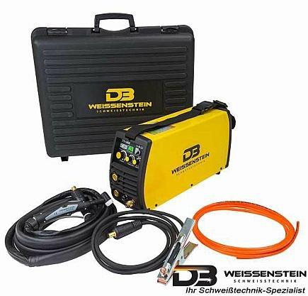 Soldador inverter Wig/TIG/MMA 180 A HF encendido, esab MMA y caja de plástico.: Amazon.es: Industria, empresas y ciencia