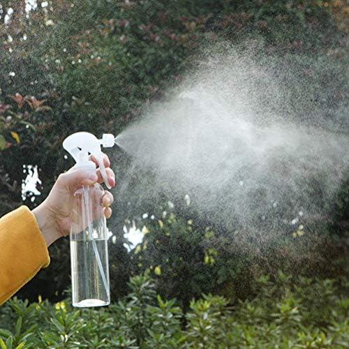 Sefod 霧吹き 園芸 植物用 ミストポンプ 手動 300ml ガーデン 多肉 スプレーボトル 噴霧器 水やり ガーデニング 園芸 観葉植物 半透明 ボトル 容器 散水用具 2PCS