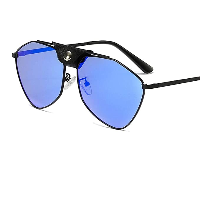 Gafas de sol de personalidad/gafas poligonales/metal ...