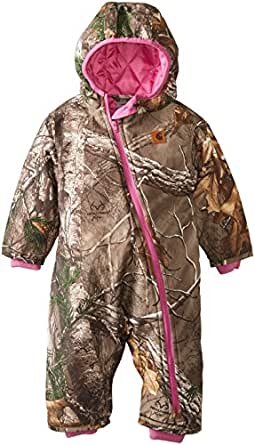 Amazon.com: Carhartt Baby Girls' Camo Snowsuit, Real Tree