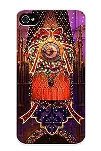 Cnjsbv-6032-bkjltve Dionnecortez Christmas Decoration Durable Iphone 4/4s Tpu Flexible Soft Case With Design