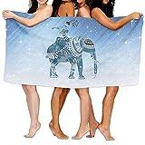 Buecoutes Bath Towel Thai Elephant Custom Lightweight Large Swim Beach Towels