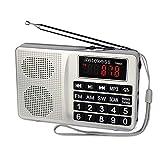 Retekess L-258 Portable AM FM Radio Shortwave Transistor Digital Display Support Micro-SD Card