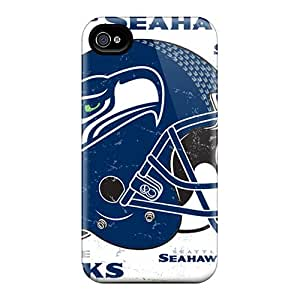 ColtonMorrill Iphone 4/4s Anti-Scratch Hard Phone Covers Support Personal Customs Trendy Seattle Seahawks Skin [PTN8383Xrok]
