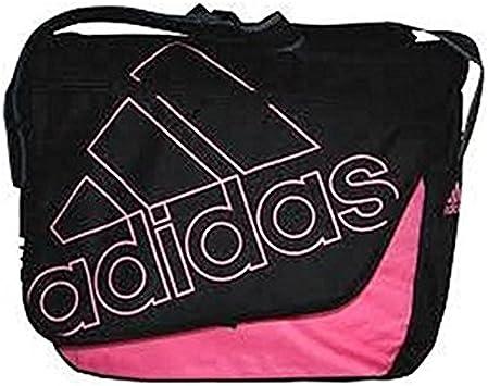 Cartero Estadísticas Comercio  Adidas 2862655 - Bolso tipo bandolera, color rosa y negro: Amazon.es:  Equipaje