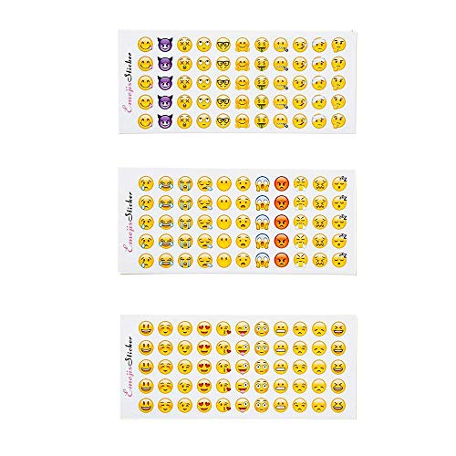 si ying Happy Emoji Stickers 12 Sheets Emoji Stickers from iPhone Facebook Twitter Popular Emoji Stickers]()