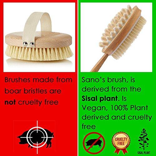 Best Natural Bristle Brush For Dry Brushing Skin